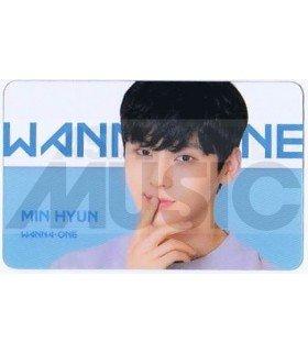 WANNA ONE - Carte transparente HWANG MIN HYUN (ID CARD)