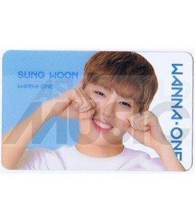 WANNA ONE - Carte transparente SUNG WOON (ID CARD)