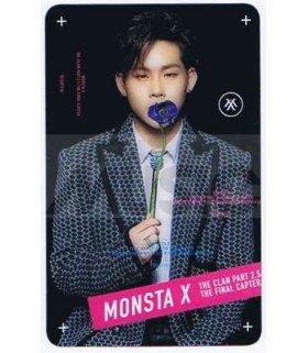 MONSTA X - Carte transparente JOOHEON (BEAUTIFUL / TYPE A)