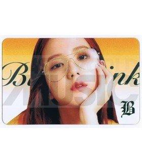 BLACKPINK - Carte transparente JISOO (BLACKPINK IN YOUR AREA / TYPE B)