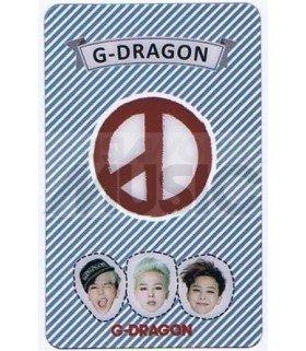 G-DRAGON - Carte transparente 001