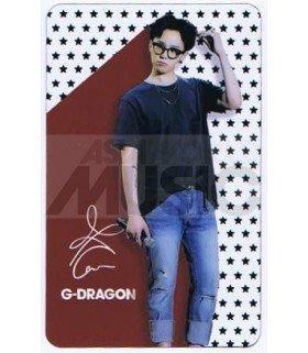 G-DRAGON - Carte transparente 022