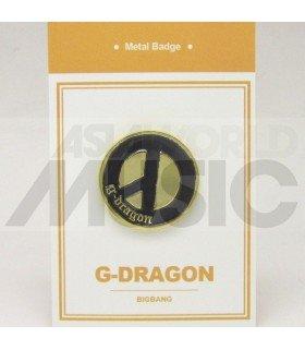 G-Dragon (BIGBANG) - Pin's métal (Import Corée)