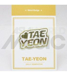 TAEYEON (Girls' Generation) - Pin's métal (Import Corée)
