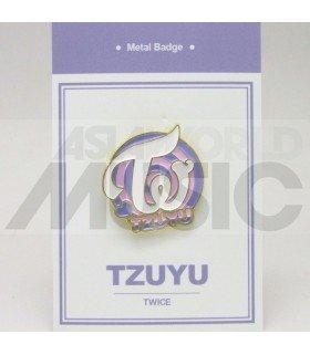 Tzuyu (TWICE) - Pin's métal (Import Corée)