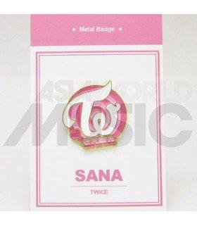 Sana (TWICE) - Pin's métal (Import Corée)