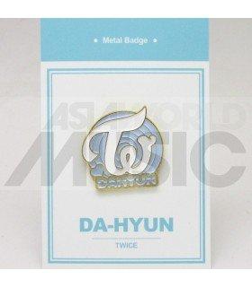 Dahyun (TWICE) - Pin's métal (Import Corée)