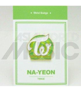 Nayeon (TWICE) - Pin's métal (Import Corée)