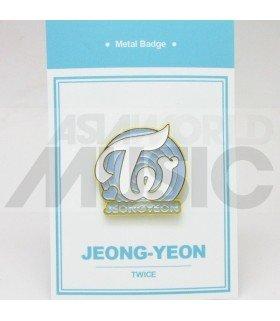 Jeong Yeon (TWICE) - Pin's métal (Import Corée)