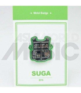 SUGA (BTS) - Pin's métal (Import Corée)