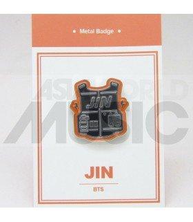 JIN (BTS) - Pin's métal (Import Corée)