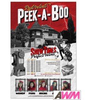Affiche officielle Red Velvet - Perfect Velvet (Poster B)