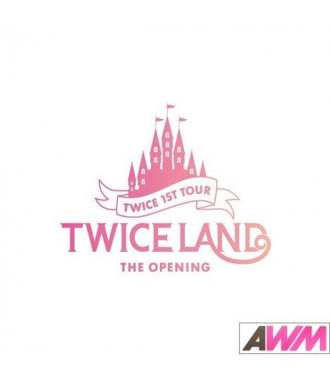 TWICE (트와이스) 'TWICELAND' The Opening Concert (3DVD) (édition coréenne)