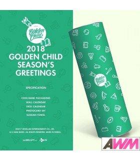 Golden Child (골든차일드) 2018 Season's Greetings (Calendrier officiel) (édition coréenne)