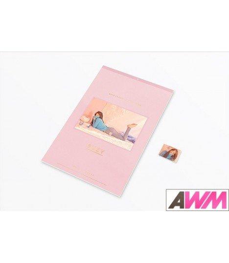 SUZY (수지) 2018 Wall Calendar (Calendrier officiel) (édition limitée coréenne)