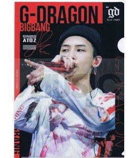 G-Dragon (BIGBANG) - Porte-Document Double Cover 019