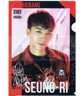 SEUNGRI (BIGBANG) - Porte-Document Double Cover 001