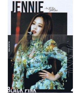 JENNIE (BLACKPINK) - Porte-Document Double Cover 001