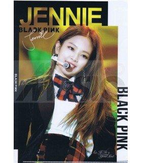 JENNIE (BLACKPINK) - Porte-Document Double Cover 002
