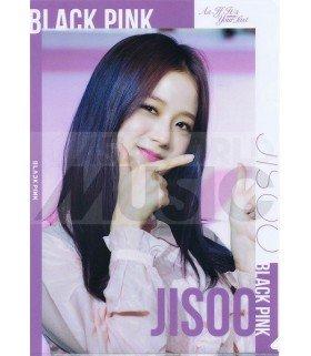 JISOO (BLACKPINK) - Porte-Document Double Cover 001