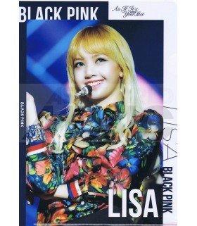 LISA (BLACKPINK) - Porte-Document Double Cover 001
