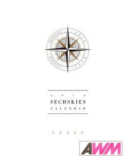 SECHSKIES (젝스키스) 2018 Wall Calendar (Calendrier officiel) (édition coréenne)