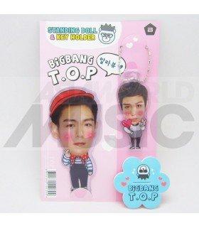 T.O.P (BIGBANG) - Standing Doll & Porte-clé (Type B)