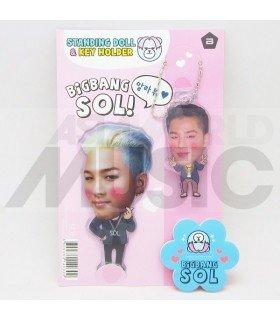 TAEYANG (BIGBANG) - Standing Doll & Porte-clé (Type B)