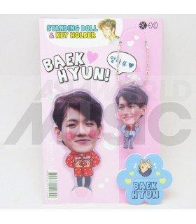 Baekhyun (EXO) - Standing Doll & Porte-clé (Type B)