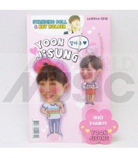 YOON JI SUNG (WANNA ONE) - Standing Doll & Porte-clé
