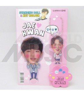 KIM JAE WAN (WANNA ONE) - Standing Doll & Porte-clé