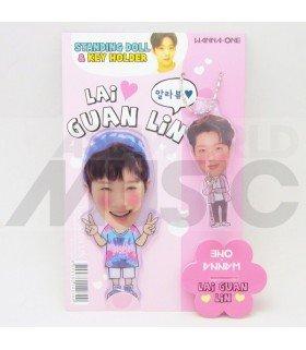 LAI KUAN LIN (WANNA ONE) - Standing Doll & Porte-clé