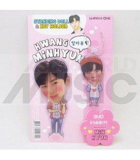 HWANG MIN HYUN (WANNA ONE) - Standing Doll & Porte-clé