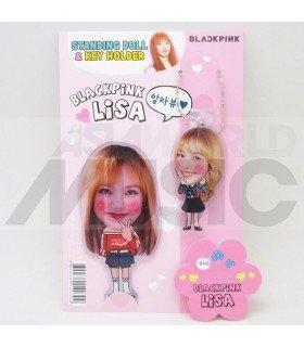 LISA (BLACKPINK) - Standing Doll & Porte-clé