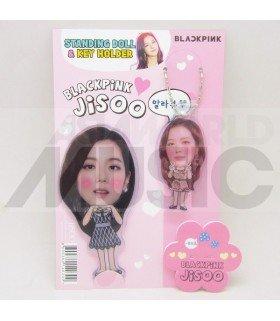 JISOO (BLACKPINK) - Standing Doll & Porte-clé