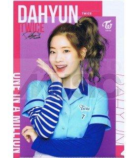 Dahyun (TWICE) - Porte-Document Double Cover 002