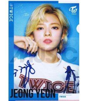 Jeong Yeon (TWICE) - Porte-Document Double Cover 002