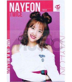 Nayeon (TWICE) - Porte-Document Double Cover 002