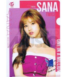 Sana (TWICE) - Porte-Document Double Cover 002