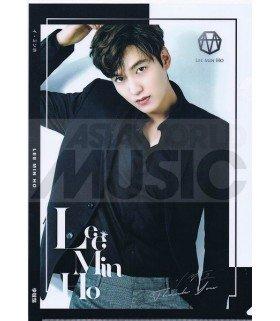 Lee Min Ho - Porte-Document Double Cover 012