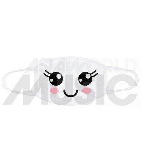 Masque WONDERING SMILE (White)