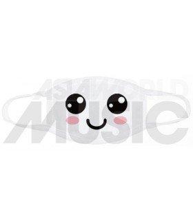 Masque HAPPY FACE (White)