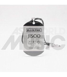 BLACKPINK - Collier Plaque ID - JISOO