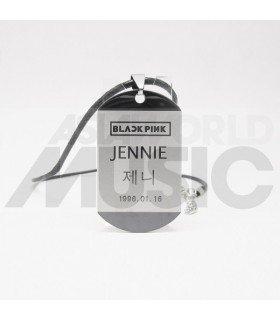 BLACKPINK - Collier Plaque ID - JENNIE
