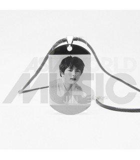BTS - Collier Plaque Portrait - JIN