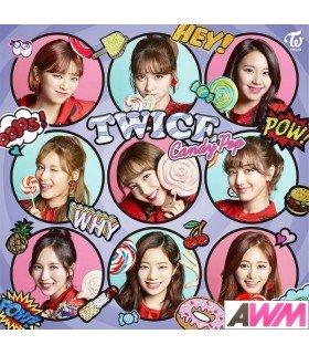 TWICE - Candy Pop (SINGLE) (édition normale japonaise)
