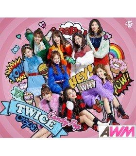 TWICE - Candy Pop (Type B / SINGLE+DVD) (édition limitée japonaise)