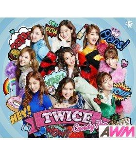 TWICE - Candy Pop (Type A / SINGLE+DVD) (édition limitée japonaise)