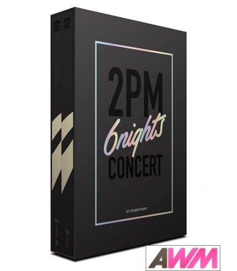 2PM (투피엠) 2017 2PM CONCERT 6nights (3DVD) (édition coréenne)