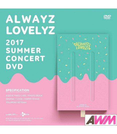 Lovelyz (러블리즈) 2017 SUMMER CONCERT ALWAYZ (3DVD) (édition coréenne)